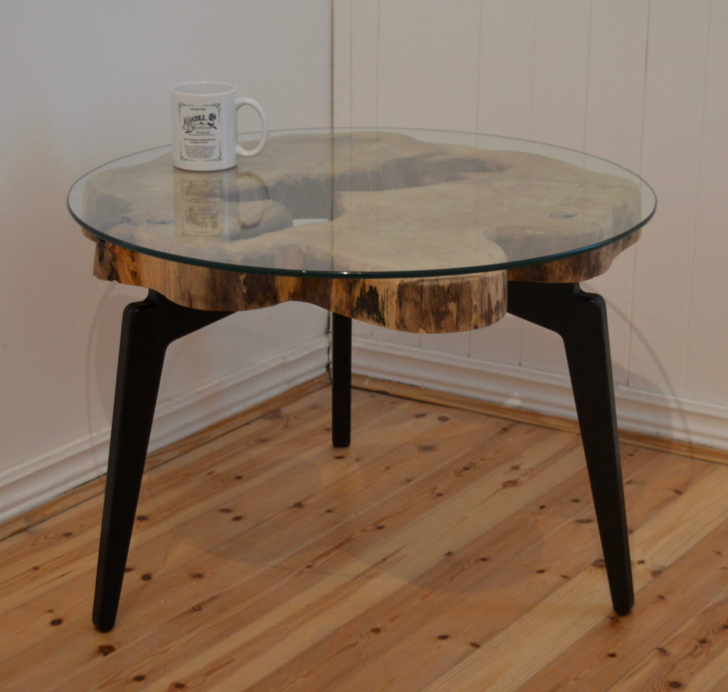 - Unique Wooden Coffee Table, Handcrafted In Co. Galway, Ireland.