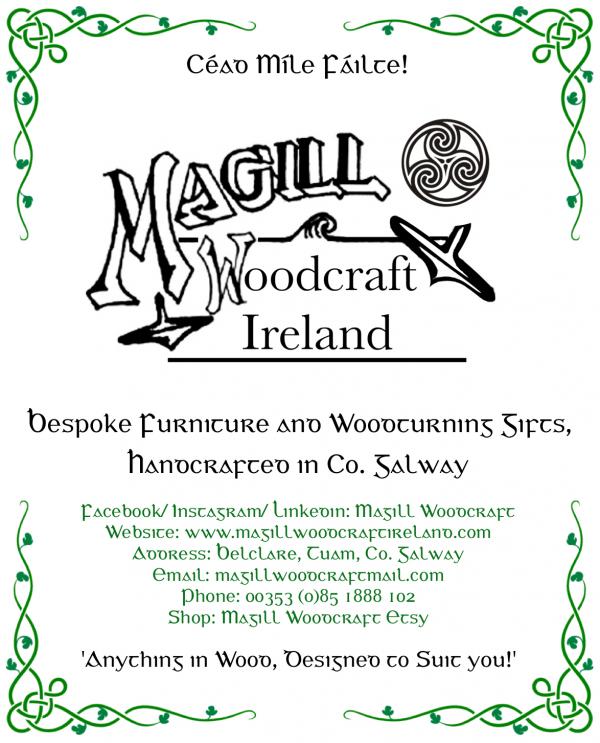 Magill Woodcraft Ireland logo 2020